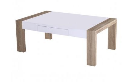 lesena klubska mizica